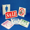Hot sale universial acrylic toilet sign for supermarket