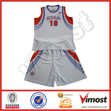 OEM new design 100% Polyester European basketball jersey design Professional high quality classic mens