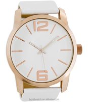 Simple design beautiful alloy case women watch big dial ladies watches