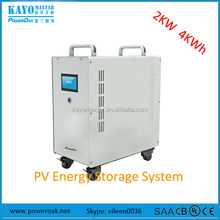 solar power residential 220 volt 1kw 2.5kw 5kw system with li-ion battery storage