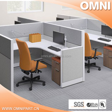 Newest design high quality small office cubicle