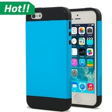 Slim Colorful Heavy Duty Hybrid Rugged Hard Case Cover For iPhone 5 6 plus