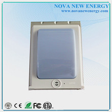 Popular Stainless steel sensor wall mounted solar light, solar LED lamp