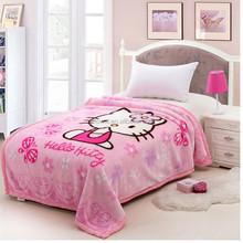Raschel Mink 100% Polyester Children Blankets