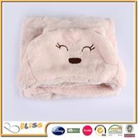 2015 coral fleece newborn kids baby blanket boy&girl toddler cartoon sleeping bag autumn and winter bear,cat,cow