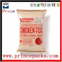 200g 500g 1kg printed salt bag grade plastic food bag customed Stand Up Packaging Bag