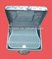 professional aluminum briefcase with luggage/laptop/document with CE approval