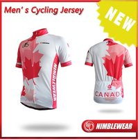 2012 New Maple Leaf Custom Making Cycling Jersey