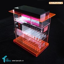 Factory Wholesale Competitive Price High Quality Pop Acrylic Clear 10mm 15mm 25mm e Liquid e Juice Display Box