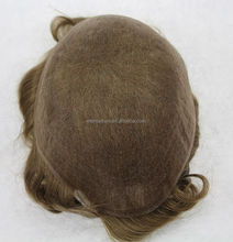 Men's Hair Pieces lace base sell china wigs toupee real hair toupee