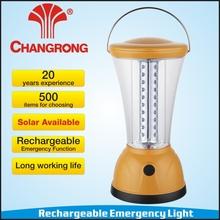 led solar lantern 1W solar panel 40pcs super bright led hot sale model CR-3240LS