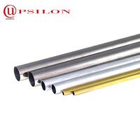 Round seamless copper clad aluminum tube