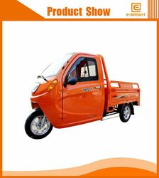 Differential motor cargo tricycle with cabin Indonesia