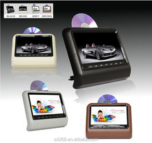 "China 9"" car headrest mount portable dvd player"