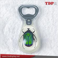 Best Selling New design resin keychain wine bottle opener manufacture