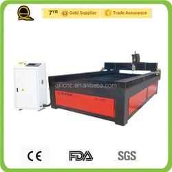 china factory workshop supply rack and gear sheet metal 1530 cnc plasma cutting machine