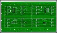 p10 LED PCB PRINTED CIRCUIT BOARD