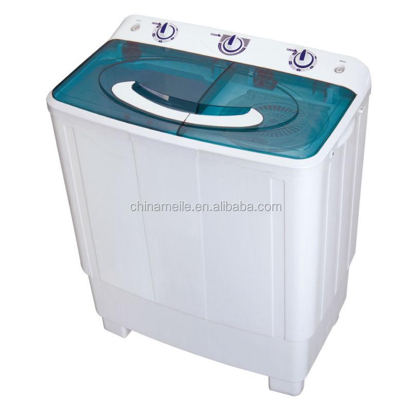 Semi automatique double baignoire machine laver for Machine a laver semi professionnelle