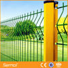 Green PVC Coated Garden Fence /Triangle Bending bend fence wire mesh