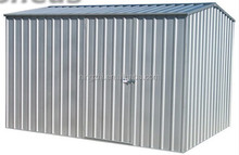 8ftx4ft Lean to Shed Utility Shed Green Prefab Backyard Shed Modular Metal Garden Shed