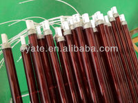 ruby halogen infrared heater tubes with CE