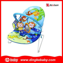 2015 new design adjustable baby bouncer,automatic swing baby music,baby swing and bassinet DKB201516