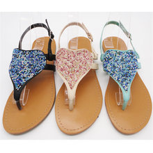 Handmade beautiful 2014 new design fashionable ladies wedge make my shoes