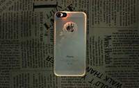 Shining Mobile Phone Led light skin Sticker for Iphone 5 / 5s
