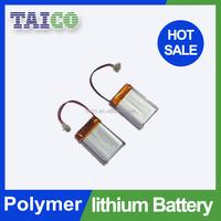 High performance ultra thin battery 3.7v 130mah lipo battery for rc car