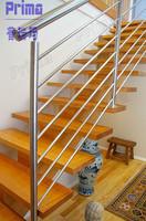 outdoor wrought iron stair railing (PR-B67)