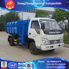 Dongfeng/Forland 4*2 self loading small garbage truck for sale