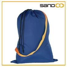 2016 china manufacturer plain drawstring nylon laundry bag, wholesale nylon laundry bag