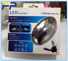 Car Bulbs With Philips Chips Auto Lights h7 h8 LED Headlight For Universal Cars