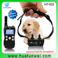 2015 Smart Waterproof Portable Dog Training Electric Shock Device with Remote Control Collar