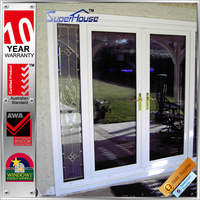 AS2047 Australia standard waterproof aluminium casement door