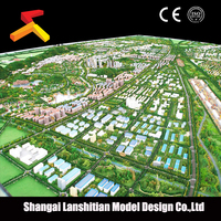 house model craft, Professional plastic scale building model