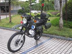 Dirt bike, off road motorcycle ,military style motorcycle