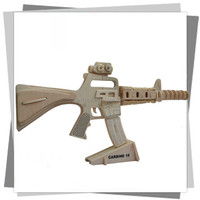 wooden DJ115 model/weapon toys/ war game/3D gun puzzle/gift and item for boys