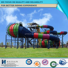 Professional most popular large water slides for selling factory in china