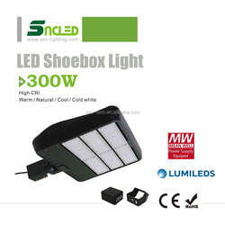 SNC New Designed UL CUL Listed 300w LED Shoebox Light with Type 3 Lens