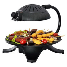 2015 New product high quality electric bbq grill with hot pot