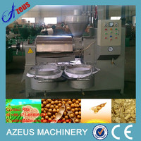 Professional manufacturer supply cold pressed soy oil mill