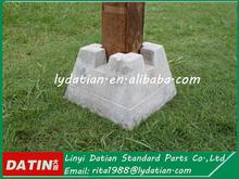 Concrete deck block,portable concrete base