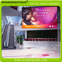 higher brightness and wide viewing angle pitch 6mm led advertising display for mall