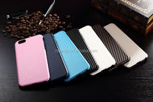 New arrival cell phone carbon fiber back case for iphone 6 wholesalers china