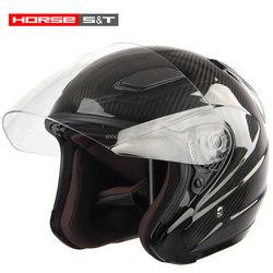 Half face helmet motorcycle