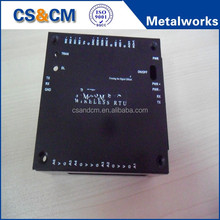 customized small sheet metal enclosure / aluminum electronic enclosure