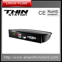 low cost linux thin computer fl300,RDP,VGA,HDMI,multi-users thin pc made in china