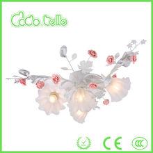 modern countryside style flowers&leaves rose vintage pendant lamp/lighting