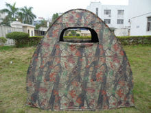 pop up high quality easy folding animal camouflage tent